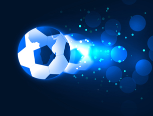サッカーボールの写真素材 [FYI00099574]