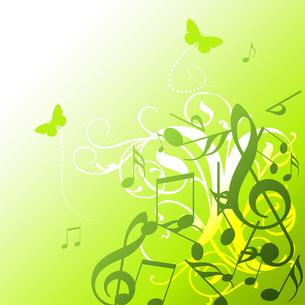 音楽とエコの写真素材 [FYI00099577]