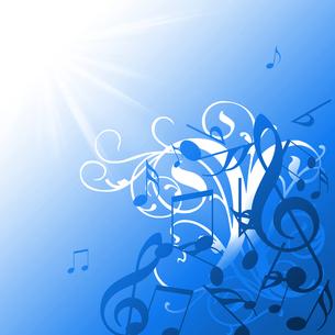 さわやか音楽の写真素材 [FYI00099602]