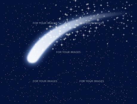 流れ星の写真素材 [FYI00099623]