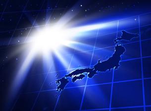 光の中の日本の写真素材 [FYI00099680]
