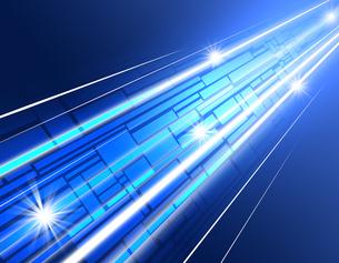 光の道の写真素材 [FYI00099729]
