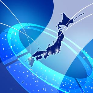 ネットワーク日本の写真素材 [FYI00099822]
