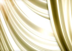 ゴールドのカーテンの写真素材 [FYI00099857]