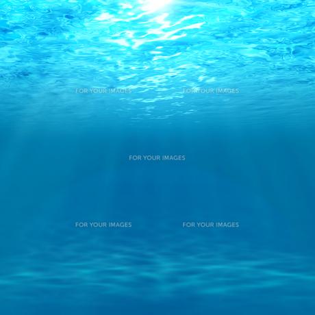 水中に射し込む光の素材 [FYI00099899]