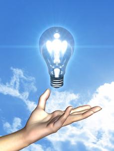 エネルギーイメージの写真素材 [FYI00099912]