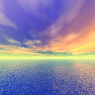 海原イメージの写真素材 [FYI00099937]