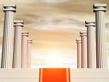 神殿イメージの素材 [FYI00099949]