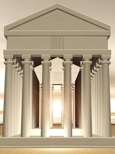 神殿イメージの素材 [FYI00099960]