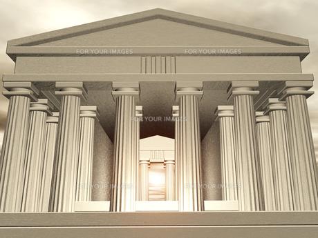 神殿イメージの素材 [FYI00099967]