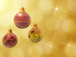 クリスマスボールの素材 [FYI00099970]