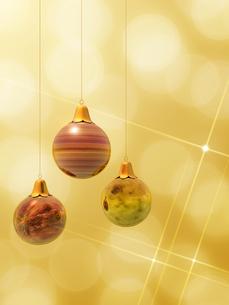 クリスマスボールの素材 [FYI00099977]
