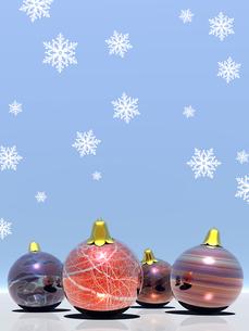 クリスマスボールの素材 [FYI00099982]