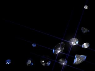 宝石の背景素材の写真素材 [FYI00100054]