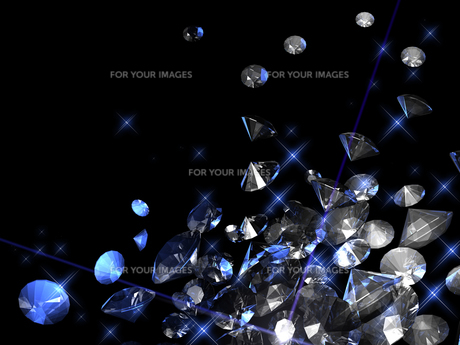 宝石の背景素材の写真素材 [FYI00100063]