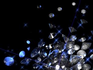 宝石の背景素材の素材 [FYI00100063]
