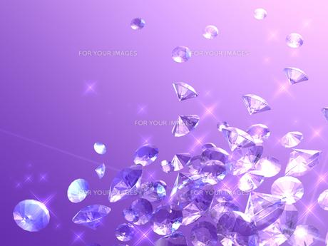 宝石の背景素材の写真素材 [FYI00100068]