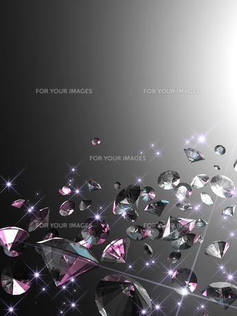 宝石の背景素材の写真素材 [FYI00100077]