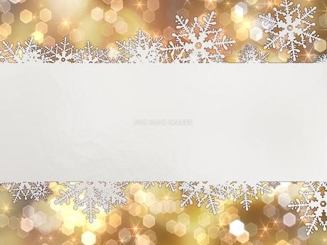 雪の結晶の背景素材の素材 [FYI00100215]