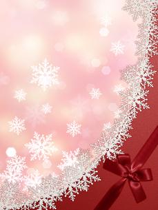 雪の結晶の背景素材の素材 [FYI00100221]
