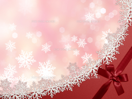 雪の結晶の背景素材の素材 [FYI00100231]