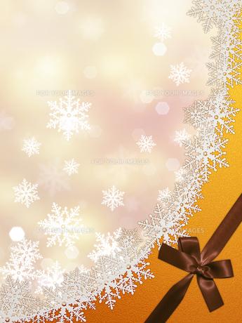 雪の結晶の背景素材の素材 [FYI00100239]