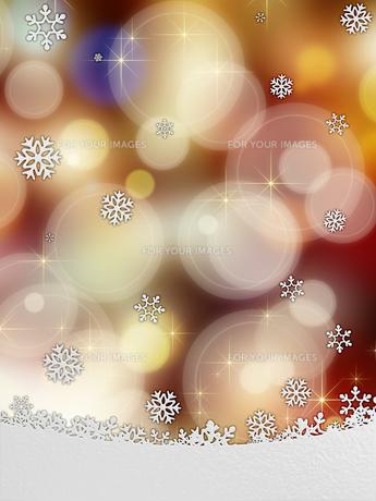 雪の結晶の背景素材の素材 [FYI00100262]