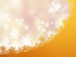 雪の結晶の背景素材の素材 [FYI00100269]