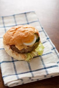 ハンバーガーの写真素材 [FYI00100376]