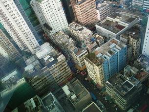 香港の街並みの写真素材 [FYI00100559]
