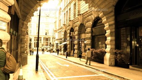 ロンドンの街並みの写真素材 [FYI00100651]