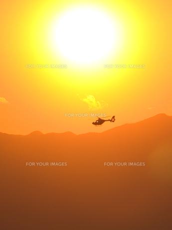 ヘリコプターの写真素材 [FYI00100685]