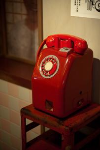 赤電話の写真素材 [FYI00100750]