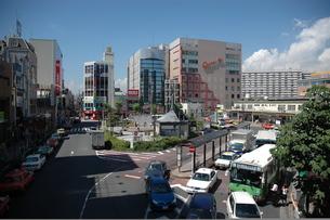 駅前の風景の写真素材 [FYI00100997]