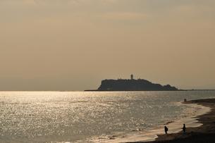 江の島たそがれの写真素材 [FYI00101163]