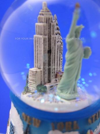 ニューヨークのスノードームの写真素材 [FYI00101365]
