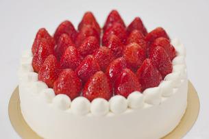 イチゴケーキの写真素材 [FYI00101446]