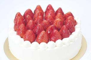 クリスマスケーキの写真素材 [FYI00101475]