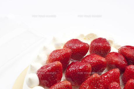 イチゴケーキの写真素材 [FYI00101477]