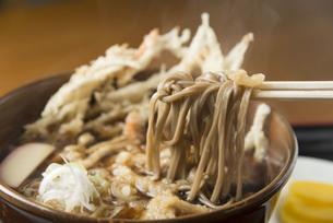 かき揚げ蕎麦の写真素材 [FYI00101685]