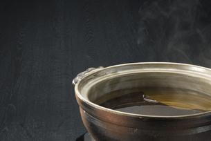 土鍋の写真素材 [FYI00101694]