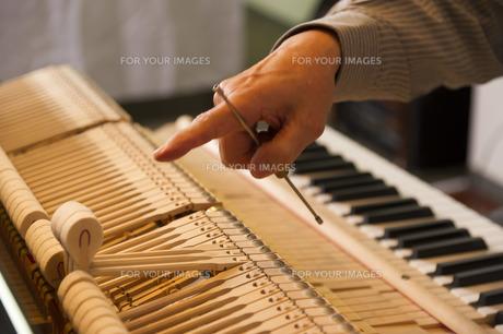 ピアノ調律の素材 [FYI00101770]