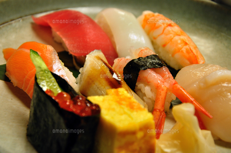 にぎり寿司の写真素材 [FYI00101859]