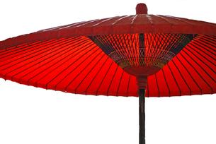 茶屋の日傘の写真素材 [FYI00101879]