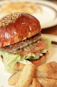 ハンバーガーの写真素材 [FYI00101947]
