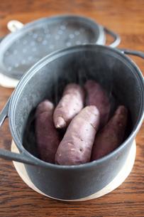 焼き芋の写真素材 [FYI00101961]
