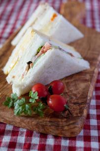 サンドイッチの写真素材 [FYI00102135]