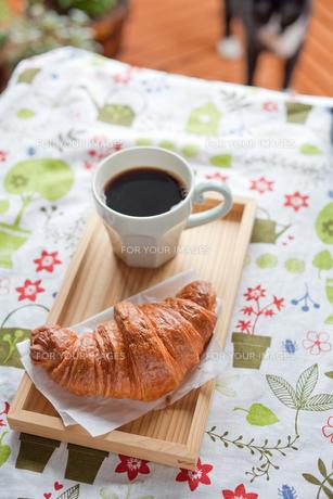朝食の風景の写真素材 [FYI00102333]