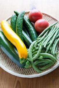 夏野菜の写真素材 [FYI00102350]