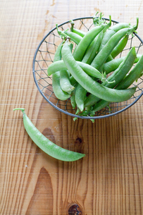 スナップ豌豆の写真素材 [FYI00102379]